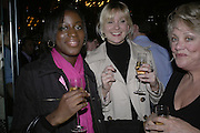 Sarita Diaz, Sally-Anne Shrimpton and Andria Dorler, Drinks party to launch a new Thomas Pink shirt called The Mogul which has a pocket which houses one's cigar. Hostyed by the Spectator and Thomas Pink. Floridita. Wardour St. London. 1 November 2006. -DO NOT ARCHIVE-© Copyright Photograph by Dafydd Jones 66 Stockwell Park Rd. London SW9 0DA Tel 020 7733 0108 www.dafjones.com