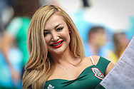 Fan of Mexico during the 2018 FIFA World Cup Russia, round of 16 football match between Brazil and Mexico on July 2, 2018 at Samara Arena in Samara, Russia - Photo Thiago Bernardes / FramePhoto / ProSportsImages / DPPI