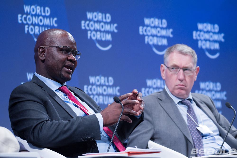 Patrick Khulekani Dlamini, Chief Executive Officer and Managing Director<br /> Development Bank of Southern Africa at the World Economic Forum on Africa 2017 in Durban, South Africa. Copyright by World Economic Forum / Greg Beadle