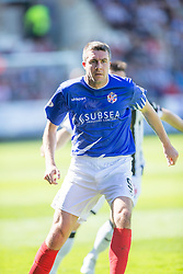 Cowdenbeath's player manager Colin Nish. <br /> Dunfermline 7 v 1 Cowdenbeath, SPFL Ladbrokes League Division One game played 15/8/2015 at East End Park.