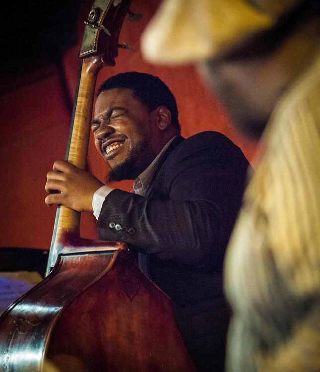 3/3/2013 New York, NY - Ravi Coltrane Quartet with David Virelles, Dezron Douglas, Johnathan Blake at The Jazz Standard.