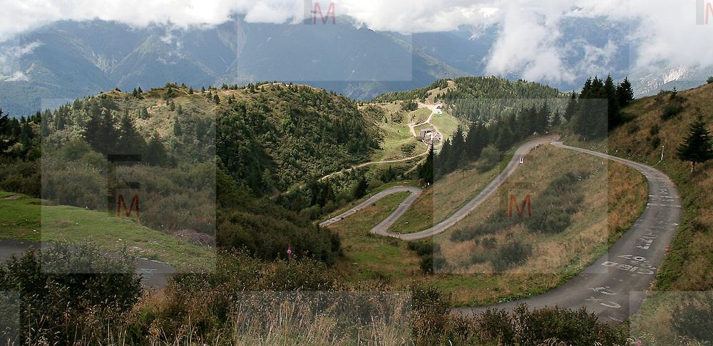 Mountain road in Friuli