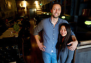 Ryan and Sununta Haworth are the owners of The Indian, Jackson's only indian restaurant will open Thursday.