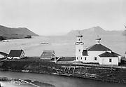 "9707-K192. ""Unalaska and Greek Church"" June 22-24, 1917 Alaska"