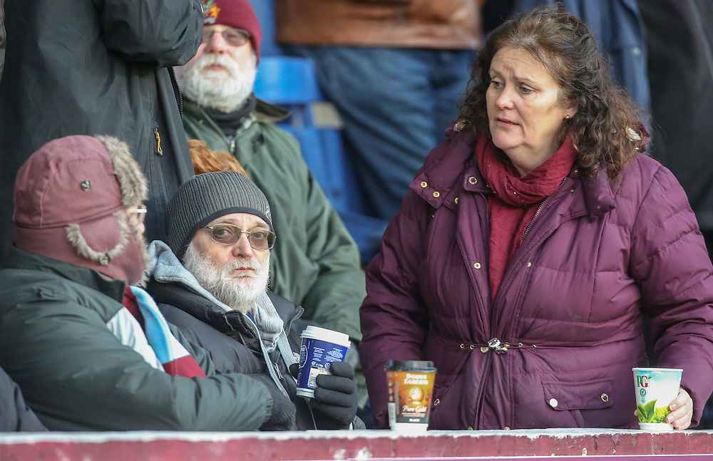 Burnley fans enjoy the atmosphere in the build up to kick off<br /> <br /> Photographer Alex Dodd/CameraSport<br /> <br /> The Premier League - Burnley v Southampton - Saturday 14th January 2017 - Turf Moor - Burnley<br /> <br /> World Copyright © 2017 CameraSport. All rights reserved. 43 Linden Ave. Countesthorpe. Leicester. England. LE8 5PG - Tel: +44 (0) 116 277 4147 - admin@camerasport.com - www.camerasport.com
