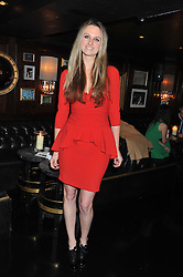 BRYONY DANIELS at the launch of Beulah's collaboration with Hennessy Gold Cup and a preview of the SS13 Collection held at The Brompton Club, 92b Old Brompton Road, London SW7 on 18th October 2012.