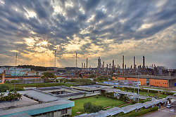 Fábrica da Braskem no pólo petoquímico de Triunfo/RS. A Braskem é uma empresa brasileira da área petroquímica, uma das três maiores empresas industriais de capital privado do país e o maior complexo de produção de resinas termoplásticas da América Latina, com perspectiva de ser incluída entre os 10 maiores do mundo. FOTO: Jefferson Bernardes/ Agência Preview