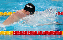 July 26, 2017 - Budapest, Hungary - Great Britain's Max Litchfield competes in a men's 200m medley semi-final during the swimming competition at the 2017 FINA World Championships in Budapest, on July 26, 2017. (Credit Image: © Foto Olimpik/NurPhoto via ZUMA Press)