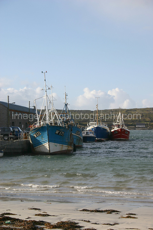 Kilronan Pier, Inis Mor, the Aran Islands, County Galway