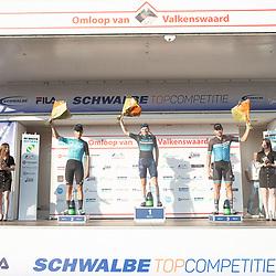 VALKENSWAARD (NED) CYCLING September 5th:<br />Stan van Tright wint de omloop. van Valkeswaard voor Martijn Budding en Coen Vermeltvoort