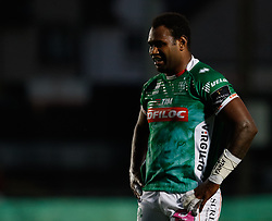 Benetton Treviso's Iliesa Ratuva<br /> <br /> Photographer Simon King/Replay Images<br /> <br /> Guinness PRO14 Round 1 - Dragons v Benetton Treviso - Saturday 1st September 2018 - Rodney Parade - Newport<br /> <br /> World Copyright © Replay Images . All rights reserved. info@replayimages.co.uk - http://replayimages.co.uk