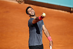 May 3, 2019 - Madrid, MADRID, SPAIN - Fernando Verdasco of Spain during the Mutua Madrid Open 2019 (ATP Masters 1000 and WTA Premier) tenis tournament at Caja Magica in Madrid, Spain, on April 28, 2019. (Credit Image: © AFP7 via ZUMA Wire)