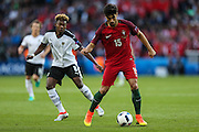 André Gomes of Portugal, during the match against Austria, valid for the European Championship Group F 2016 in the Parc des Princes stadium in Paris on Saturday 18. The game ended 0 to 0.