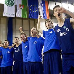 20100414: SLO, Finals of SKL, Gimnazija Sentvid vs Solski center Celje