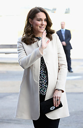 The Duchess of Cambridge arrives to watch wheelchair basketball during a SportsAid event at the Copper Box in the Olympic Park, London.