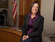Sara Flitner is the new mayor of Jackson.