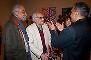 H.O. NAZARETH; RASHID AARAREN;  , Migrations private view, Tate Britain. London. 30 January 2012.
