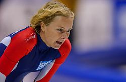 04-01-2003 NED: Europees Kampioenschappen Allround, Heerenveen<br /> 1500 meter dames / Annette Bjelkevik NOO