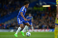 Loic Remy of Chelsea in action. UEFA Champions League group G match, Chelsea v Maccabi Tel Aviv at Stamford Bridge in London on Wednesday 16th September 2015.<br /> pic by John Patrick Fletcher, Andrew Orchard sports photography.