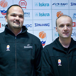 20081125: Basketball - Jure Zdovc and Mario Kraljevic press conference