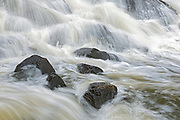 Waterfall located along the eastern shores of Lake of the Woods<br />