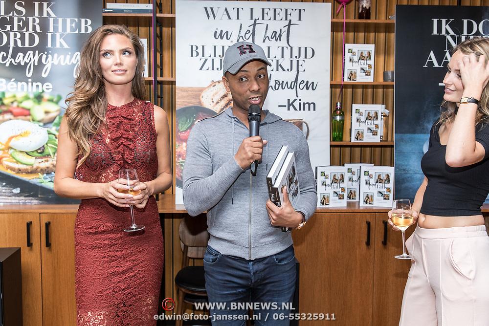 NLD/Amsterdam/20160606 - Boekpresentatie Foodtalk van Kim Feenstra, Kim en Humberto Tan
