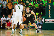 WACO, TX - DECEMBER 9: Peyton Allen #22 of the Texas A&M Aggies defends against Lester Medford #11of the Baylor Bears on December 9, 2014 at the Ferrell Center in Waco, Texas.  (Photo by Cooper Neill/Getty Images) *** Local Caption *** Peyton Allen