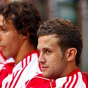 NLD/Amsterdam/20100731 - Wedstrijd om de JC schaal 2010 tussen Ajax - FC Twente, Mounir El Hamdaoui, Miralem Sulejmani