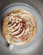 The spiced pumpkin gelatte at Paciugo Gelato & Caffe on Wednesday, Oct. 23, 2013. (Brian Cassella/Chicago Tribune) B583282234Z.1 <br /> ....OUTSIDE TRIBUNE CO.- NO MAGS,  NO SALES, NO INTERNET, NO TV, CHICAGO OUT, NO DIGITAL MANIPULATION...