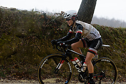 Ruth Winder at Strade Bianche - Elite Women 2018 - a 136 km road race on March 3, 2018, starting and finishing in Siena, Italy. (Photo by Sean Robinson/Velofocus.com)