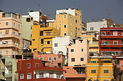 A view of the buildings in the predominantly Christian Corniche al-Nahr neighborhood in Beirut, Lebanon, March 23, 2006.