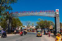 Mathura, the birthplace of Lord Krishna, Uttar Pradesh, India.