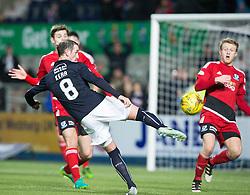 Falkirk's Mark Kerr. Falkirk 1 v 1 Ayr United, Scottish Championship game played 14/1/2017at The Falkirk Stadium .