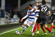 QPR Forward Chris Willock(21) during the EFL Sky Bet Championship match between Queens Park Rangers and Brentford at the Kiyan Prince Foundation Stadium, London, England on 17 February 2021.