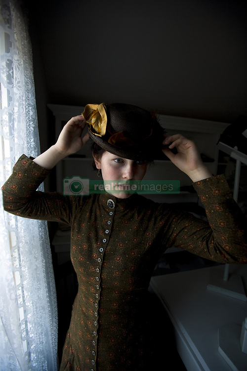 July 21, 2019 - Woman In Vintage Clothes (Credit Image: © Richard Wear/Design Pics via ZUMA Wire)