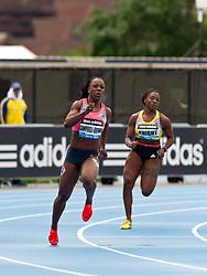 adidas Grand Prix track & field: Diamond League professional meet, womens 200 meters, Veronica CAMPBELL-BROWN, Jamaica