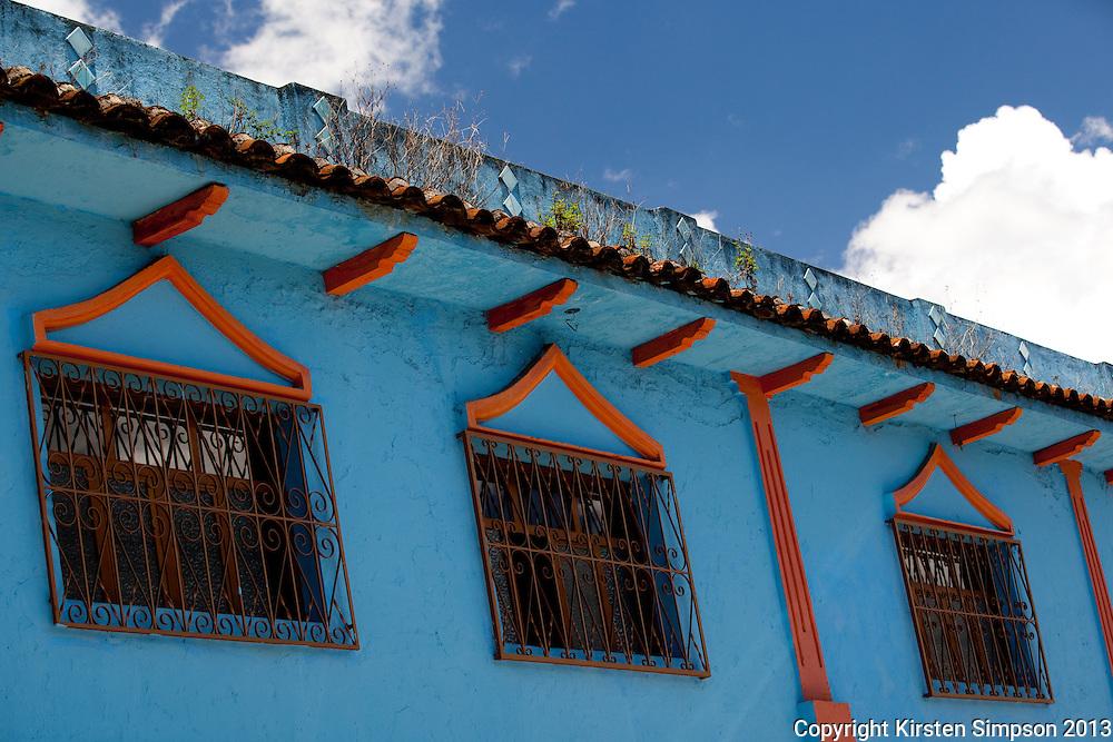 The beautiful buildings of San Cristóbal