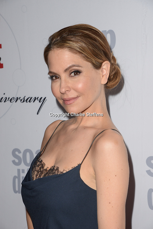 LISA LOCICERO at Soap Opera Digest's 40th Anniversary party at The Argyle Hollywood in Los Angeles, California