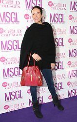 © Licensed to London News Pictures. 20/01/2014, UK. Sophie Anderton, MediaSKIN Gifting Lounge, No1 Leicester Square, London UK, 20 January 2014. Photo credit : Richard Goldschmidt/Piqtured/LNP