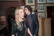 SAM TAYLOR-JOHNSON; AARON TAYLOR-JOHNSON, Charles Finch and  Jay Jopling host dinner in celebration of Frieze Art Fair at the Birley Group's Harry's Bar. London. 10 October 2012.