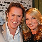 NLD/Amsterdam/20101110 - Presentatie Linda het Boek, Linda de Mol en partner Jeroen Rietbergen