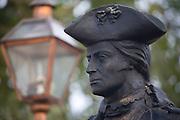 Tiradentes_MG, Brasil.<br /> <br /> Estatua de Tiradentes na rua Padre Toledo em Tiradentes, Minas Gerais.<br /> <br /> Tiradentes statue in Padre Toledo street in Tiradentes, Minas Gerais.<br />  <br /> Foto: JOAO MARCOS ROSA / NITRO