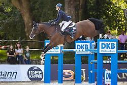 TEBBEL Justine (GER), Light Star<br /> - Stechen -<br /> Großer Preis der Deutschen Kreditbank AG (CSI2*)<br /> Springprüfung mit Stechen, international<br /> Höhe: 1,45m<br /> Paderborn - OWL Paderborn Challenge 2020<br /> 13. September2020<br /> © www.sportfotos-lafrentz.de/Stefan Lafrentz