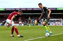 Billy Bodin of Bristol Rovers takes on Sam Foley of Northampton Town - Mandatory by-line: Robbie Stephenson/JMP - 07/10/2017 - FOOTBALL - Sixfields Stadium - Northampton, England - Northampton Town v Bristol Rovers - Sky Bet League One