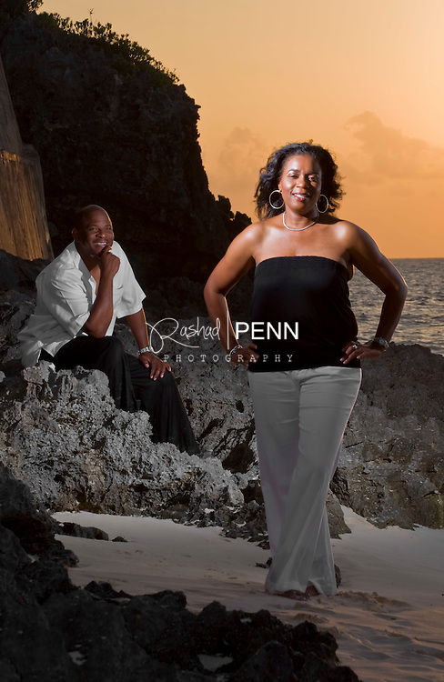Outdoor Portrait photography on the beach at sunset