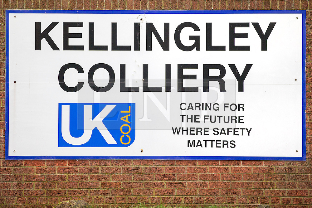 © Licensed to London News Pictures. 17/12/2015. Kellingley UK. Picture shows Kellingley Colliery in Yorkshire,  Britain's last deep coal mine that is preparing to close down tomorrow (friday 18th December) with the loss of 450 jobs. Photo credit: Andrew McCaren/LNP