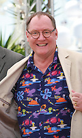 John Lasseter at the Inside Out film photo call at the 68th Cannes Film Festival Monday May 18th 2015, Cannes, France.
