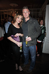 FREDDIE FLINTOFF and RACHAEL FLINTOFF at a party to celebrate the publication of her new book - Kelly Hoppen: Ideas, held at Beach Blanket Babylon, 45 Ledbury Road, London W11 on 4th April 2011.