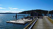 Oyster Farm, Westcott Bay, San Juan Islands, Washington State