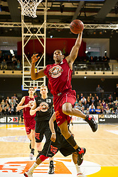 13-03-2011 BASKETBAL: HEREN ALL STAR GALA: ZWOLLE<br /> Markel Humphrey USA (Magixx Nijmegen) wordt MVP van de wedstrijd<br /> ©2011-WWW.FOTOHOOGENDOORN.NL / Peter Schalk